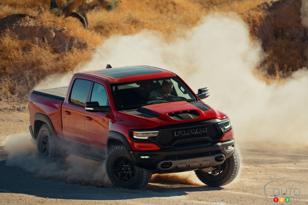 The 2021 Ram Trx Makes Its Entrance Car News Auto123
