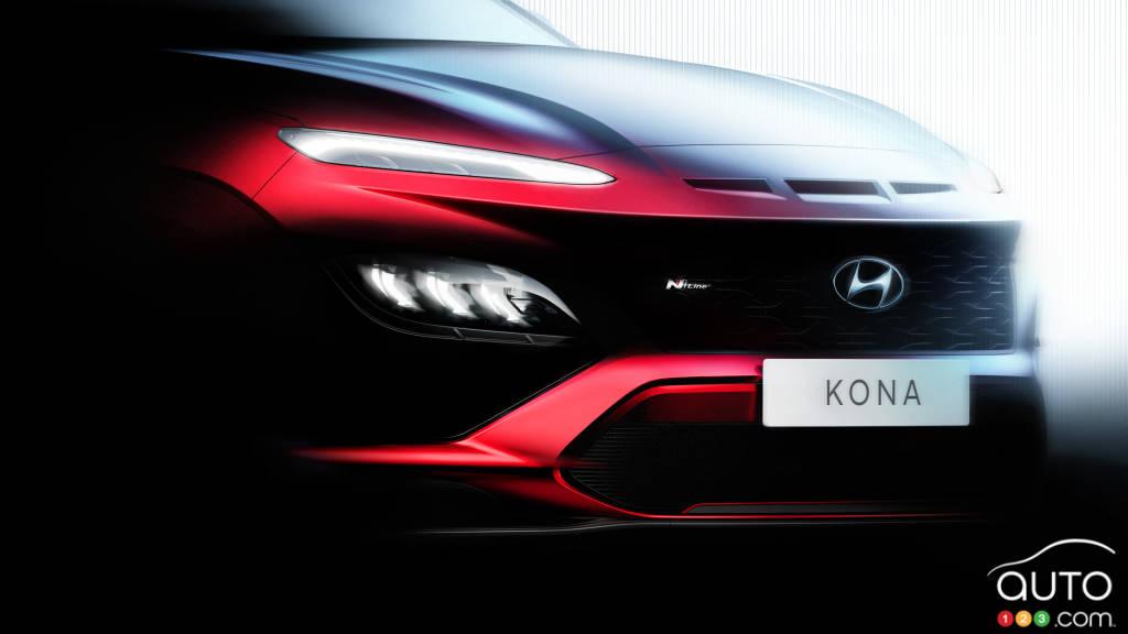 Une version N Line bientôt lancée — Hyundai Kona