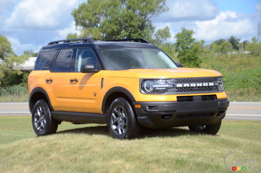 2021 Ford Bronco Sport First Look Good And Not So Good Car News Auto123