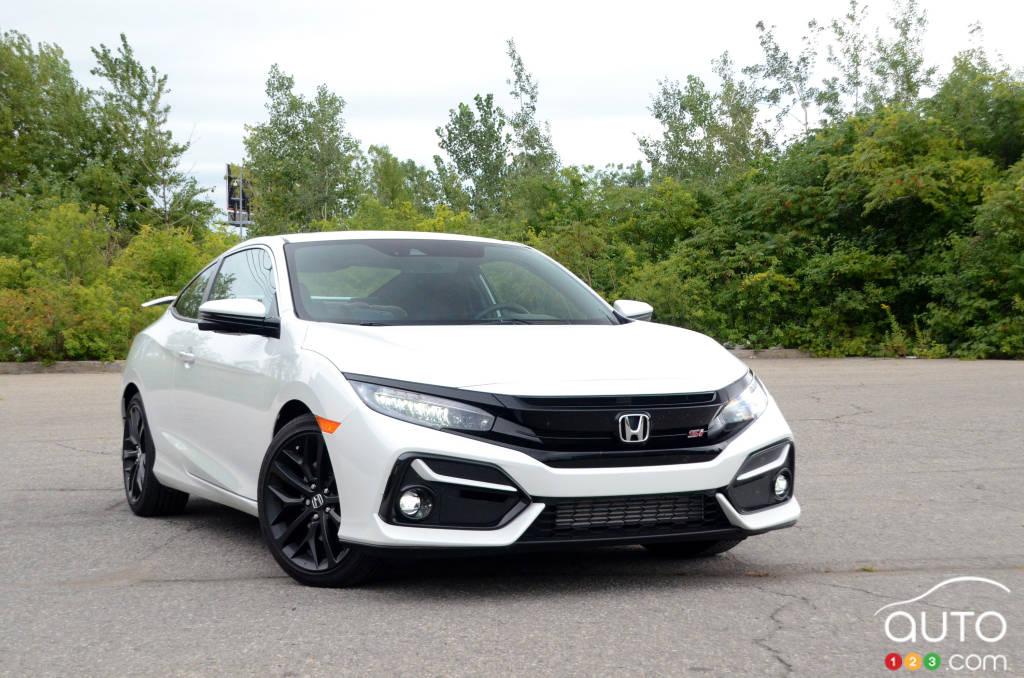 2020 Honda Civic Si Coupe Review Car Reviews Auto123