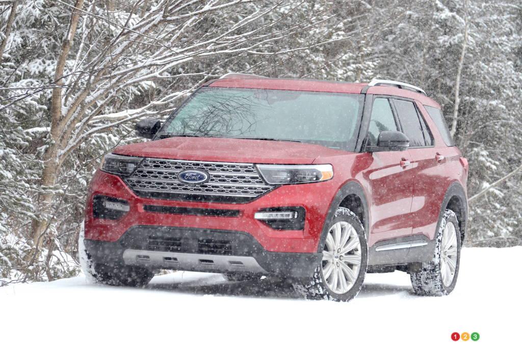 2021 Ford Explorer Hybrid review | Car Reviews | Auto123