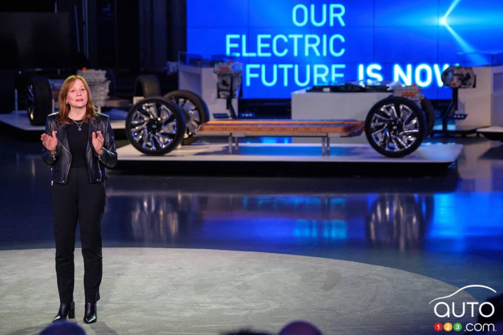 General Motors veut produire des véhicules exclusivement électriques d'ici 2035
