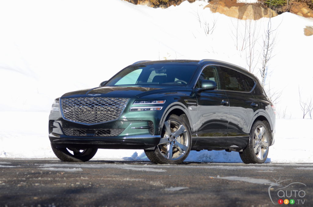2021 Genesis GV80 review   Car Reviews   Auto123