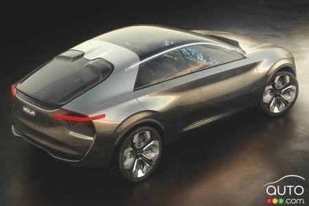 Kia Imagine concept, rear
