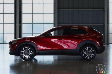 2020 Mazda CX-30, profile