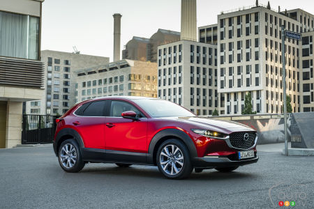 2020 Mazda CX-30, three-quarters front