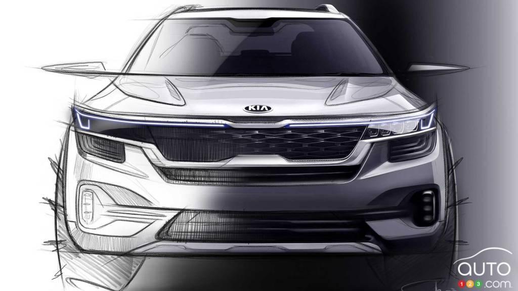 Un nouveau SUV appelé Seltos — Futurs modèles Kia