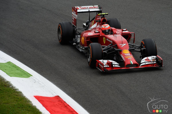 F1: Ferrari announces Sebastian Vettel and Kimi Raikkonen for 2015