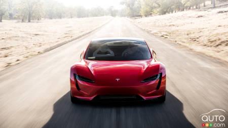 Tesla Roadster concept, front