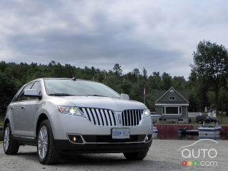 2011 Lincoln MKX AWD road test video