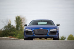 True, it may be considered the nouveau riche in a segment that's rife with history and experience, but the Audi R8 is equipped to play with the big boys. It's been around for about seven years now, and while its seen very few changes over those years, that hasn't hurt its appeal.