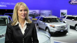 Dianne Craig is no newcomer to Ford. She's been with the company since 1986 and she most recently held the title of General Manager for the Southeast Market Area in the United States. Now, as President and CEO of Ford of Canada, she steps into the top spot hoping to help maintain the growing interest and momentum behind the brand. Auto123.TV had a chance to talk to Diane Craig during the 2012 Toronto auto show.