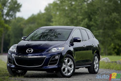 The sport-utility crossover - Blessed with 244 hp and 258 lb-ft of torque, plus a well-sorted, 6-speed autobox, the Mazda CX-7 GT AWD makes a fine getaway, go-anywhere vehicle.