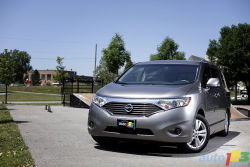 Trying something different - The Nissan Quest is long, tall and wide. It boasts styling that heads in a completely different direction from its competitors, including the segment's sales leader by a significant margin, the Dodge Grand Caravan.
