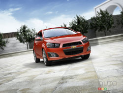 The 2012 Chevrolet Sonic is GM's new entry in the growing subcompact car segment. Built in America, the Sonic is available in sedan and five-door hatchback body styles as well as several trim levels.