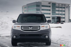 Utilitarian utopia - This is a plain and simple vehicle, and that's fine. It does the job perfectly as is, without all the bells and whistles, without the hoopla and fanfare. It just is; and that's just grand.   First released in 2002 as a '03 model, the Honda Pilot was brought into Honda's lineup as an answer to the growing demands for larger family-friendly vehicles that offered seating for 8 people.