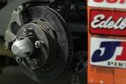 NASCAR Canadian Tire Series: Brakes video (french): Brushing off speed - Jean-Francois Dumoulin, of Dumoulin Competition, explains in this video how disc brakes succeed in stopping a car of the NASCAR Canadian Tire Series.