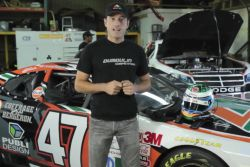 NASCAR Canadian Tire Series: Physical and mental preparation video (french): In top shape - Louis-Philippe Dumoulin, from Dumoulin Competition, describes the reasons why NASCAR drivers must properly train and prepare before a race, both physically and mentally.