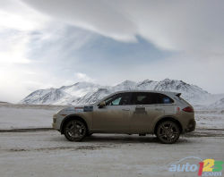 2011 Porsche Cayenne Arctic Route Adventure video: The 6th edition of the Artic Route Adventure is the first one on North America soil. The objective is to drive from Vancouver, BC to the top of Alaska, thus reaching the Arctic, and coming back down. The vehicle of choice for this 18-day, 10,000-plus-km trip is the Porsche Cayenne SUV.