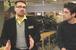 Video presentation of the Georgian College: Discover the renowned Georgian College's Canadian Automotive Institute in Barrie, Ontario, and meet some of the students and staff who work there.