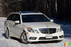 "The market's classiest wagon - Rolling on 18"" and adorned with detailed, elegant and majestic lines, the Mercedes-Benz E350 4MATIC Wagon leaves turned heads and pointed fingers in its wake."