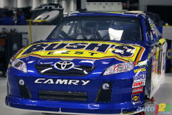 Pit stop practices at Michael Waltrip Racing: All about timing - We take you to Michael Waltrip Racing's impressive race shop located in Cornelius, N.C. where we recently witnessed Ryan Truex's pit crew in action, rehearsing the pit stop procedures during two full hours.