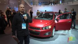 The new Sonic - General Motors has just lifted the veil on the Chevrolet Sonic, the North American replacement of the Aveo, at the Detroit Auto Show. Fresher and more contemporary, the entry-level model promises improved performance, handling and fuel efficiency.