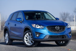 SKYACTIV's the limit! - With a starting MSRP of $22,995 (for a FWD GX trim with a 6-speed manual), the 2014 Mazda CX-5 is a viable option for those in the market for a smart, fun, family-ready vehicle that's fuel efficient and enjoyable to pilot.