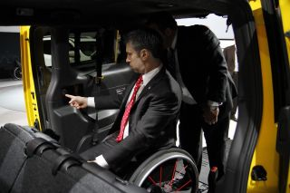 Transportation solutions for the disabled at the Detroit Auto Show
