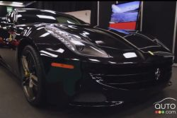 2012 Ferrari FF video preview during the Montreal Auto Show (french): The Ferrari FF is the latest creation of the famous Italian manufacturer. The first all-wheel drive Ferrari, the FF is equipped with a 660 hp V12, allowing it to reach a top speed of over 330 km/h.