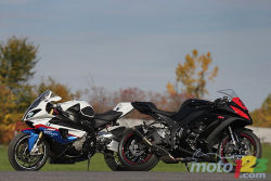 This fall, Moto123.com pitted two of the fastest and hottest production superbikes ever built against each other, namely the 2011 Kawasaki ZX-10R ABS and 2011 BMW S1000RR.