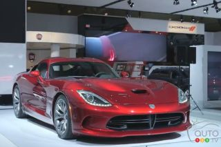 2013 SRT Viper video preview during the Toronto Auto Show