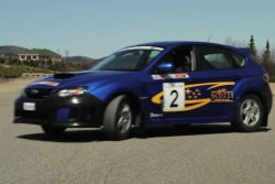 Subaru WRX drifting video: Mecaglisse, the premier venue for motor sports enthusiasts in Quebec, offers participants an opportunity to go drifting with a Subaru WRX through a partnership with John Scotti.