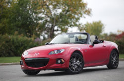 If you have never heard of the MX-5, formally named Miata, then that means you live in your mothers basement or that you don't have access to internet. No joking. Since it's launch in 1990, it has sold in millions and she even has a place in the Guinness book of records. Check it out!