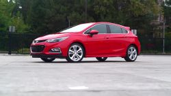 The popular Chevrolet Cruze is now available in a hatchback.