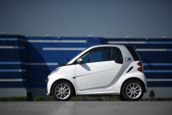The smart fortwo was designed as an electric car right from the first sketches. More environmentally friendly, more efficient, and above all more fun to drive – it provides the answers to urban mobility today.