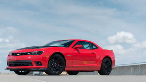 Chevrolet Camaro SS coupe 1LE 2015