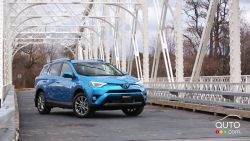 The new 2016 Toyota RAV4 boasts a refreshed exterior, premium soft-touch interior materials, exciting new technology, advanced safety features and more. Here's what Miranda thinks about all of it!