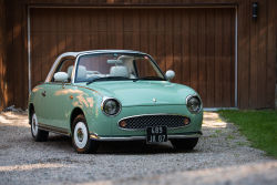 The Nissan Figaro is a cute little car that was not available in America. The culture and attention that this car gets is pretty surprising.