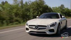 Take a look at the 2016 Mercedes AMG GT S