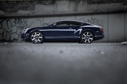 The Bentley Continental GT V8S is the latest in an already classy lineup of vehicles. True, it's not the most powerful, nor is it the largest, but it might be one of the best to drive. Just powerful enough with all the right Bentley-esque touches, this car is every bit as impressive to drive as it looks driving down the road.
