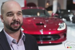 2013 SRT Viper video analysis: Does it really need any introduction? Not really, but one thing is certain: the new generation is somewhat (let's say) more civilized. With its 8.4L V10 spitting out venom at 640 hp/600 lb-ft and zinging from 0 to 100 km/h in 3.5 seconds with a maximum speed of 330 km/h, the Viper has shed its old skin and transformed into a more modern creature with a plush leather interior featuring the most luxurious accoutrements.