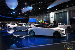 2012 Detroit Auto Show fun facts video: The NAIAS is also a huge organization that employs more than 5,000 people, it is a world-class event covered by 5,000 journalists from all around the globe, and where a whopping 32,000 pizza slices are consumed!
