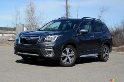 We drive the 2020 Subaru Forester