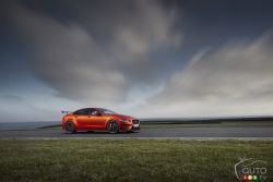 Meet the Jaguar XE SV Project 8, a 592-hp road-going missile.