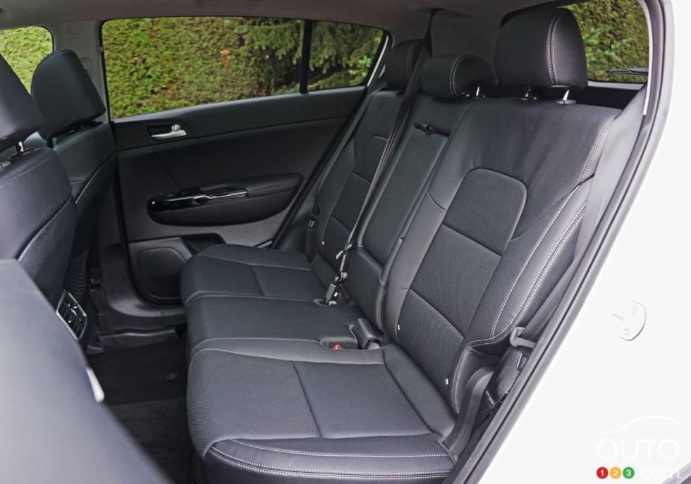 2017 Kia Sportage rear seats