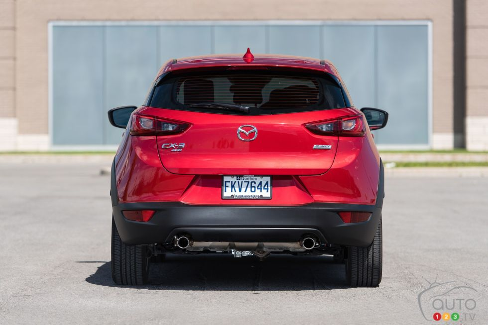 2016 Mazda CX-3 GT rear view