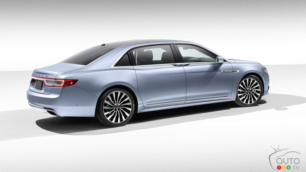 Introducing the 2019 Lincoln Continental Coach Door Edition