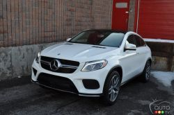 Delivering world-class comfort, agility and versatility for wherever you may venture, the new 2016 GLE is designed to effortlessly help drivers avoid trouble on the road.