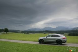 The hills were alive, indeed -- but not with the sound of music; well, not in the traditional sense. No, they were alive with the sound of the AMG S V8 biturbo exhaust note ripping through the serene mountainsides, bouncing off rock faces and sky-high trees, ricocheting off sleepy valley towns. As I skirted the Austrian and German borders behind the wheel of Mercedes' latest take on the ML -- now renamed to GLE -- in both Coupe and SUV guise, the hills were very much alive, and so was I…